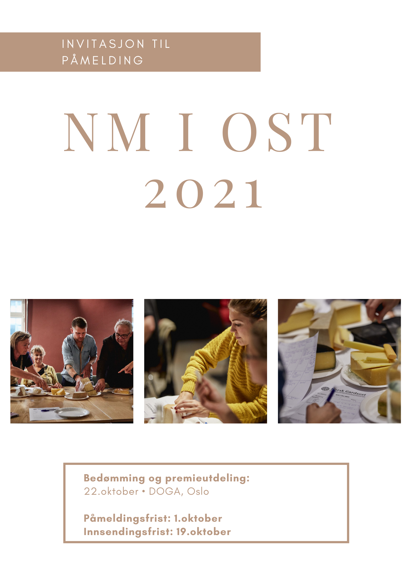 Read more about the article Invitasjon til NM I OST 22.-23.oktober 2021